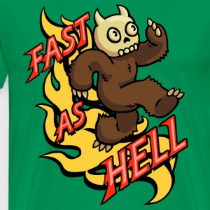 Fast as Hell T-Shirts - Men's Premium T-Shirt