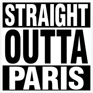 Straight Outta PARIS Tanks - Women's Premium Tank Top