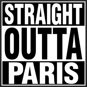 Straight Outta PARIS Caps - Trucker Cap