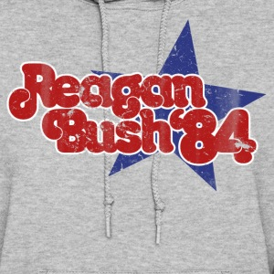 Reagan Bush 1984 retro republican - Women's Hoodie