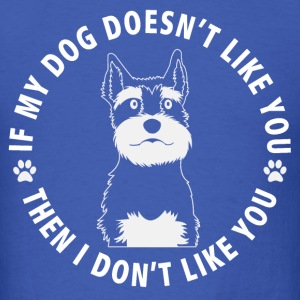 schnauzer dog 2 - Men's T-Shirt