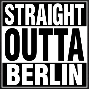 Straight Outta BERLIN Tanks - Women's Flowy Tank Top by Bella