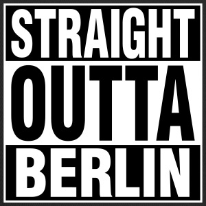Straight Outta BERLIN Caps - Trucker Cap