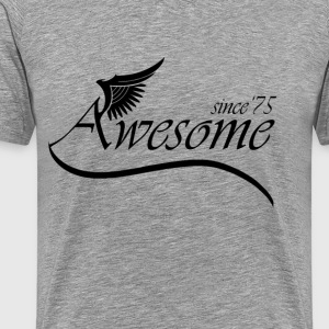 Awesome Since 1975 T-Shirts - Men's Premium T-Shirt