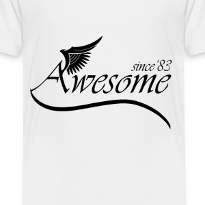 Awesome Since 1983 Baby & Toddler Shirts - Toddler Premium T-Shirt
