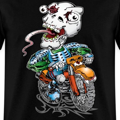 Skull-Tongued Dirtbiker wht