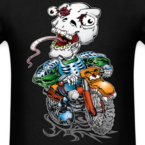 Skull-Tongued Dirtbiker wht
