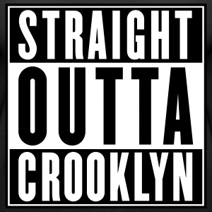 STRAIGHT OUTTA CROOKLYN Tanks - Women's Premium Tank Top