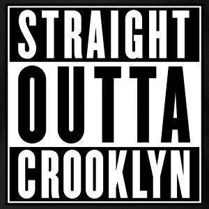 STRAIGHT OUTTA CROOKLYN Baby & Toddler Shirts - Short Sleeve Baby Bodysuit