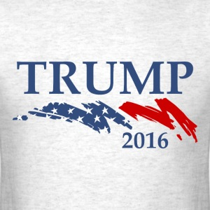 Flag Swoosh Trump 2016 T-Shirts - Men's T-Shirt