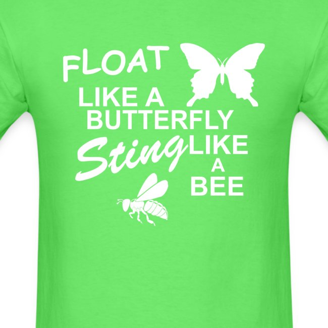 Muhammad Ali – Float Like a Butterfly