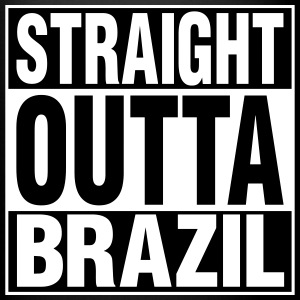 Straight Outta BRAZIL Mugs & Drinkware - Full Color Mug