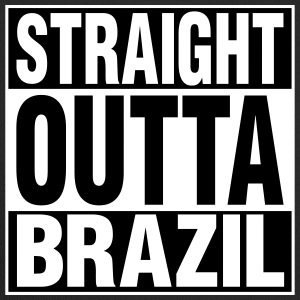 Straight Outta BRAZIL Caps - Trucker Cap