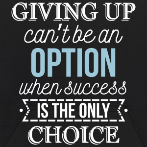 Success is the only choice. Don't give up Sweatshirts - Kids' Hoodie