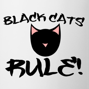 Black Cats RULE - Coffee/Tea Mug