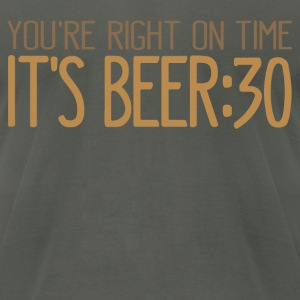 Its Beer 30 T-Shirts - Men's T-Shirt by American Apparel