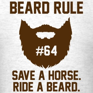 Beard Rules T-Shirts - Men's T-Shirt