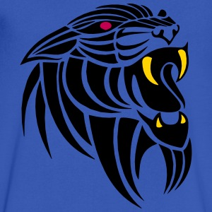 darr panther tattoo T-Shirts - Men's V-Neck T-Shirt by Canvas