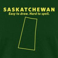Design ~ Saskatchewan. Easy to Draw. Hard to Spell.