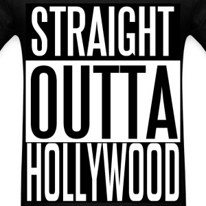 Straight Outta Hollywood T-Shirts - Men's T-Shirt