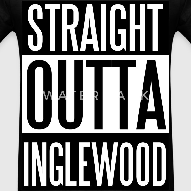 Straight Outta Inglewood T-Shirts - Men's T-Shirt