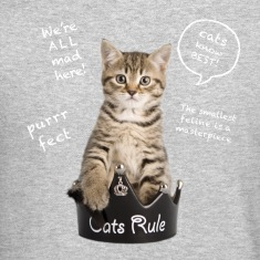 Cats Rule Long Sleeve Shirts