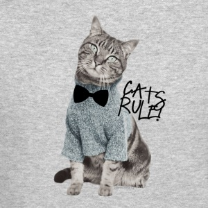 Cats Rule! Long Sleeve Shirts - Crewneck Sweatshirt