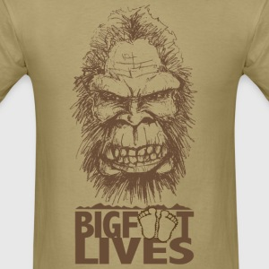Bigfoot Lives - Men's T-Shirt
