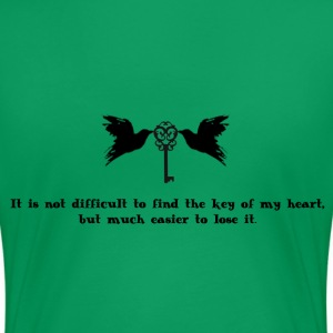 Key of my heart - Women's Premium T-Shirt