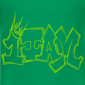 1IAM Graffiti Outline - Kids' Premium T-Shirt