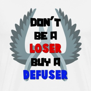 Don't Be A Loser Buy A Defuser! CS:GO T-Shirt - Men's Premium T-Shirt