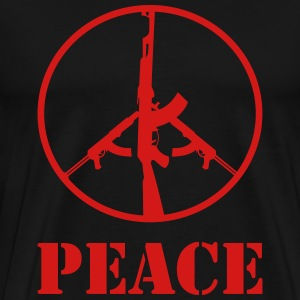peace warshirt - Men's Premium T-Shirt