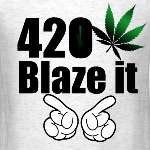 420 Blaze it T-shirt - Men's T-Shirt