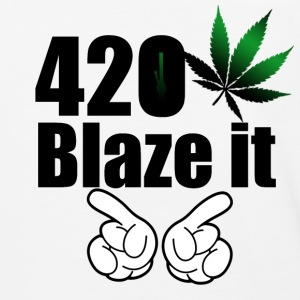 420 Blaze it T-shirt - Baseball T-Shirt