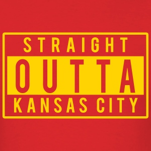 Straight Outta Kansas City T-Shirts - Men's T-Shirt