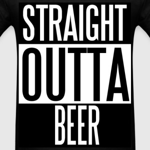 Straight Outta Beer - Men's T-Shirt