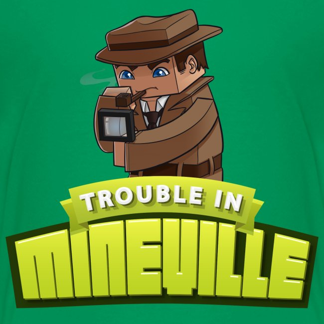 Kid's Trouble in Mineville Tee