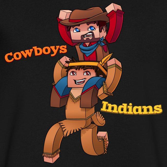 Men's Cowboys and Indians V-Neck