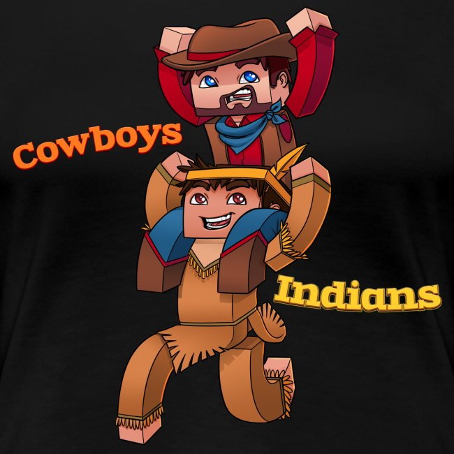Women's Cowboys and Indians Tee