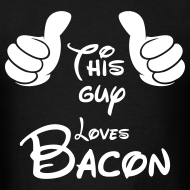 Design ~ This guy loves bacon