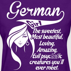 German Girl - Women's T-Shirt