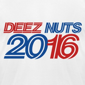DEEZ NUTS 2016 #deeznuts - Men's T-Shirt by American Apparel