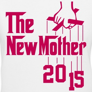 The New Mother 2015 Women's T-Shirts - Women's V-Neck T-Shirt