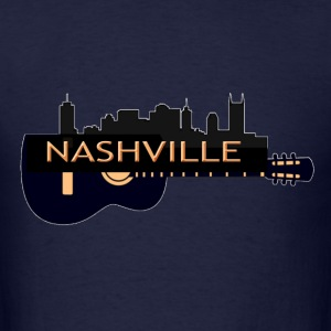 Nashville TN Guitar (02) T-Shirts - Men's T-Shirt