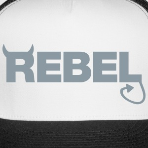 Rebel Caps - Trucker Cap