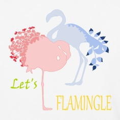Flamingo Romance T-Shirts