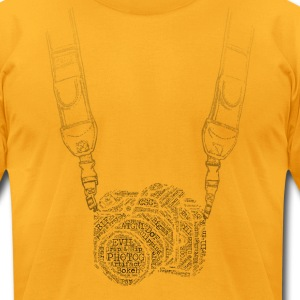 Camera With Strap - Men's T-Shirt by American Apparel