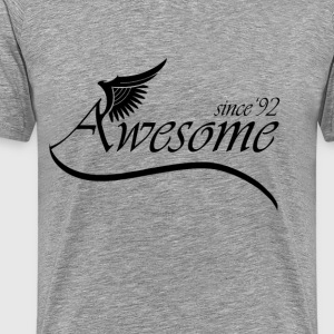 Awesome SINCE 1992 T-Shirts - Men's Premium T-Shirt