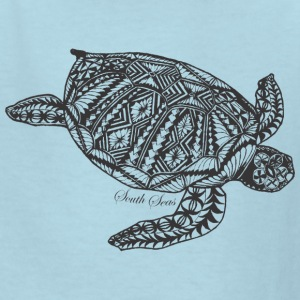 Tropical Turtle - Kids' T-Shirt
