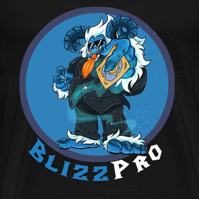 BlizzPro Mascot Yeti Alt 1 Black
